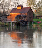 Jelka Watermill. With sunrise light Royalty Free Stock Photo