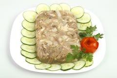 jellied цыпленок стоковое изображение