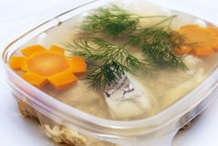 Jellied fish Stock Photography