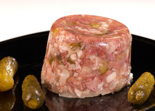 Jellied meat Stock Photography