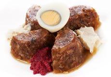 Jellied meat Stock Photo