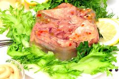 Jellied meat Royalty Free Stock Photography