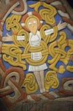 Jelling каменный экземпляр на замке Frederiksborg стоковые изображения