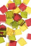Jello. Cubes Stock Photography