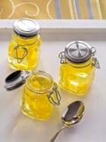 Jello amarillo Fotos de archivo libres de regalías