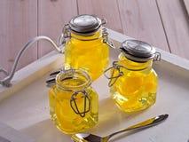 Jello amarillo Imagen de archivo libre de regalías