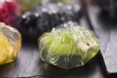 Jello deser z owoc Zdjęcia Stock