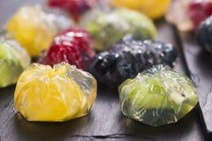 Jello deser z owoc Obrazy Stock