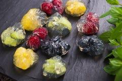 Jello deser z owoc Fotografia Royalty Free