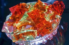 Jello dessert Royalty Free Stock Images
