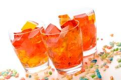 Jello en glaces Photo stock