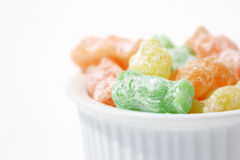 Jelly Babies. In a bowl Royalty Free Stock Image