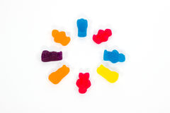 Jelly Babies - Synchronized Swimming Royalty Free Stock Photo