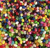 Jelly Bean Background Stock Photos