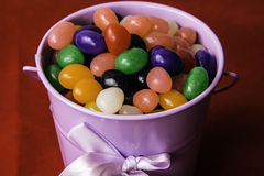 Jelly Bean Bucket Stock Photos