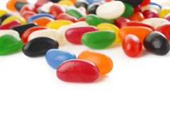 Jelly bean candies Royalty Free Stock Photo