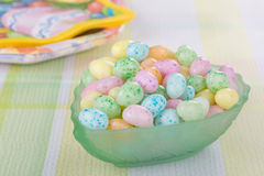 Jelly Bean Easter Candy Stock Photos