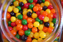 Jelly Bean Jar Stock Images