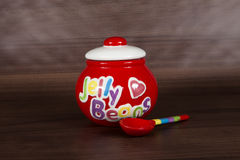 Jelly Bean Jar Stock Photography
