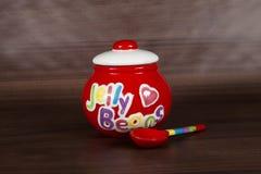 Jelly Bean Jar Stock Photography