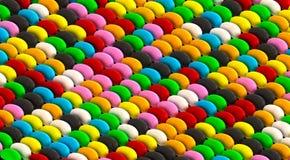 Jelly Bean Pattern Royalty Free Stock Photo
