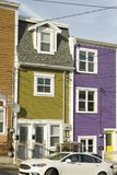 Jelly Bean Row Houses 4 images libres de droits