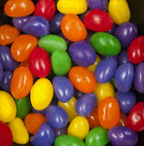 Jelly beans. A colorful jelly beans background Royalty Free Stock Photos