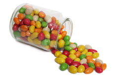 Jelly beans stock image