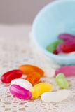 Jelly Beans Foto de archivo libre de regalías