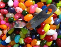 Jelly beans. Lots of jelly beans Stock Photos