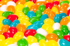 Jelly beans background Royalty Free Stock Photo