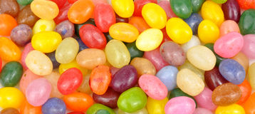 Jelly Beans Background Stock Image