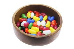 Jelly Beans in Bowl Royalty Free Stock Photo