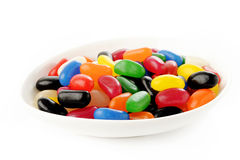 Jelly Beans in a bowl Royalty Free Stock Photography