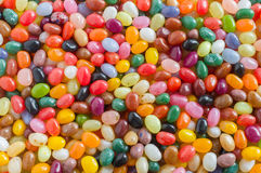 Jelly beans candy background Stock Photography