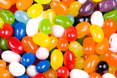 Jelly Beans Candy Close Up Stock Images