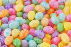 Jelly Beans Horizontal Royalty Free Stock Photography