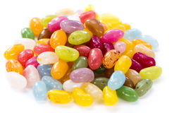 Jelly Beans (isolated on white) Stock Images