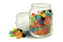 Jelly Beans Jar Royalty Free Stock Image