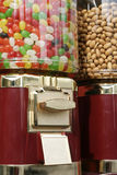 Jelly beans and peanuts. What would you like royalty free stock images