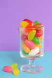 Jelly beans sugar candy Royalty Free Stock Photos