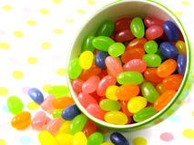 Jelly beans sweet candy Stock Image