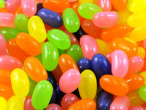 Jelly beans sweet candy. Close up background Royalty Free Stock Photography
