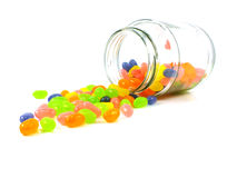 Jelly beans sweet candy Royalty Free Stock Image