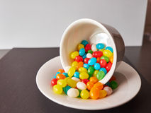 Jelly beans Royalty Free Stock Photos