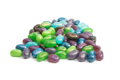 Jelly beans. On white background Stock Photography