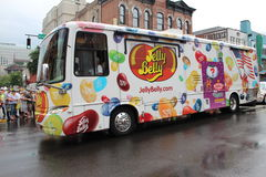 Jelly Belly Bus Stock Images