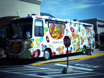 Jelly Belly Candy Van Truck Royalty Free Stock Photography
