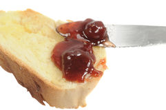 Jelly and Bread Royalty Free Stock Photo