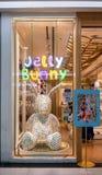 Jelly Bunny-de winkel bij Maniereiland, Bangkok, Thailand, brengt 22, 2 in de war royalty-vrije stock foto